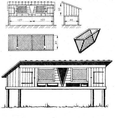 Схема мини-фермы