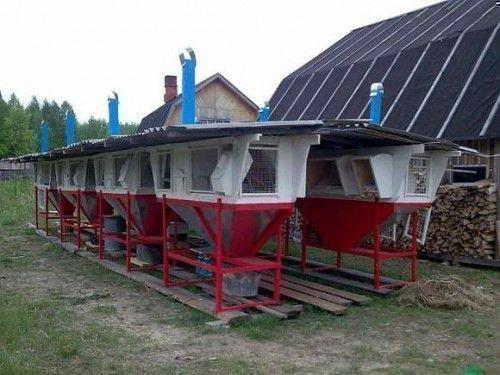 Ферма с отоплением