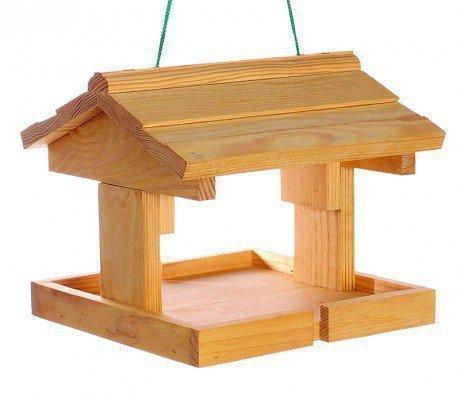 Кормушка для голубей деревянная