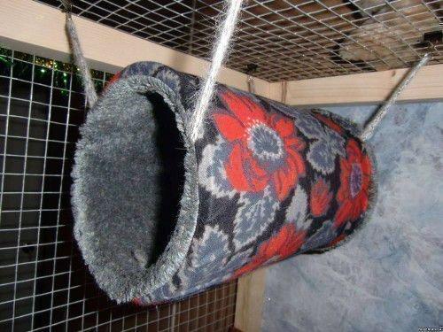 Текстильный домик для хорька