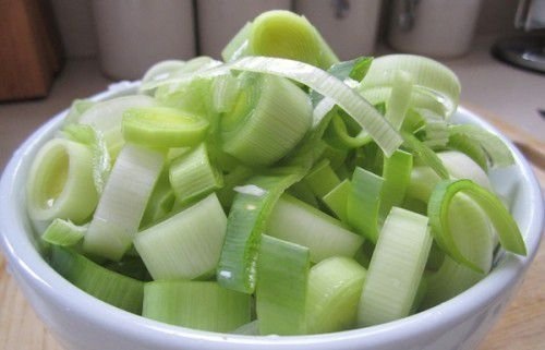 Салат из порея