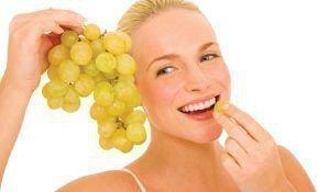Виноград: калорийность разных сортов