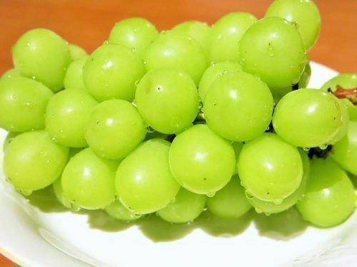 Помытый виноград