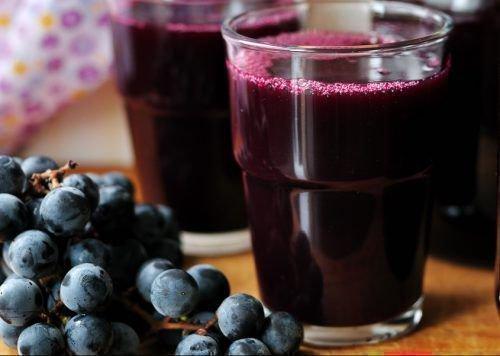 Сок черного винограда