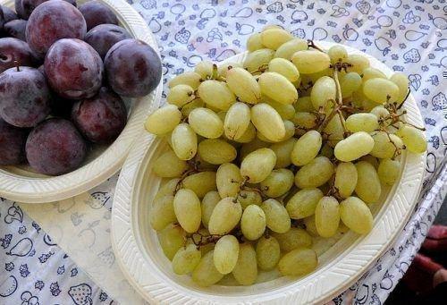 Употребление винограда