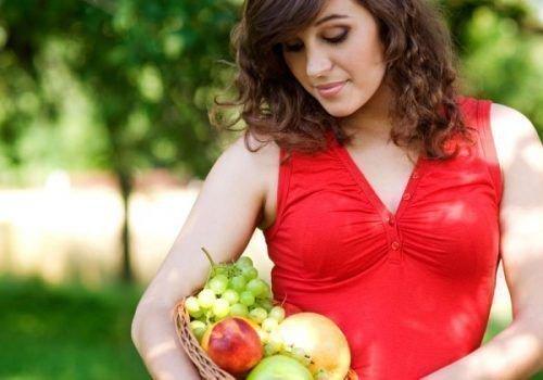 Употребление винограда во время беременности