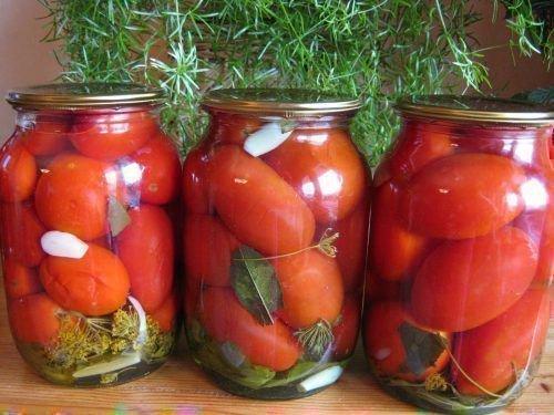 Косервированные томаты