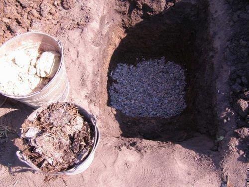 Подготовка ямы