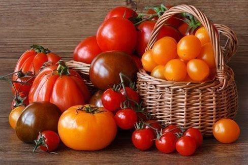 Различные томаты