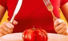 Какая калорийность у помидора