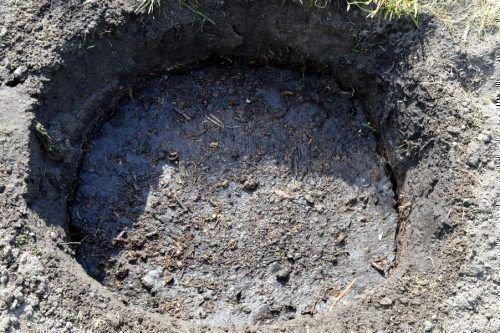 Подготовленная яма