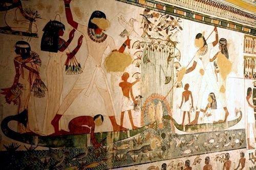 Чеснок в Древнем Египте