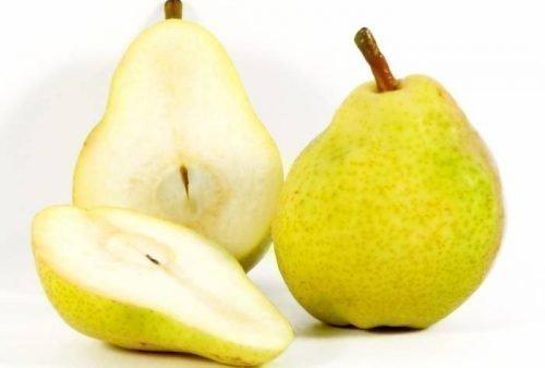 Плоды груши в разрезе