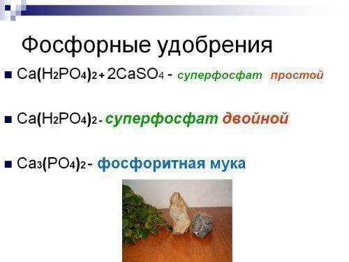 Фосфорные удобрения