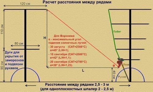 Расчет расстояния
