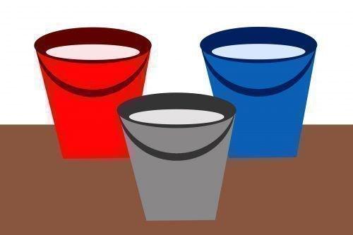 Три ведра воды