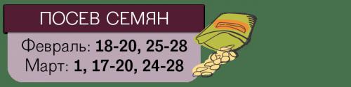 Даты посева томатов