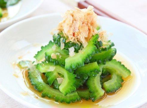 Салат из момордики