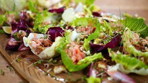 Салат с лаймом