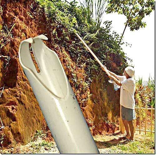 Съемник из пластиковой трубки