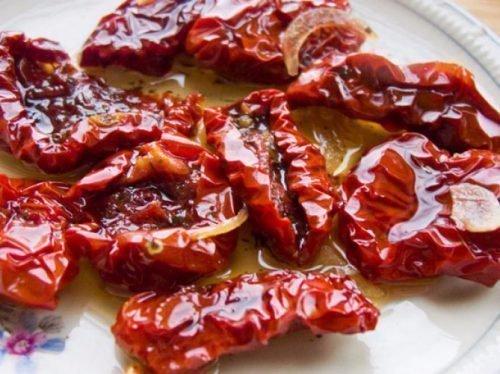 Вяленные помидоры сорта Ракета